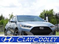 2019 Veloster 2.0 GL Hyundai Silver I4 6-Speed FWD