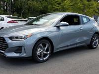 Silver 2019 Hyundai Veloster FWD 6-Speed Automatic 2.0L