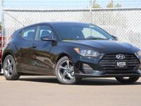 Ultra Black 2019 Hyundai Veloster FWD Manual 2.0L