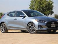Silver 2019 Hyundai Veloster FWD 6-Speed Automatic with