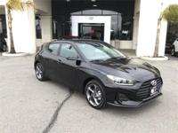 Factory MSRP: $20,510 2019 Hyundai Veloster 3D