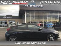 Veloster trim. Aluminum Wheels, Back-Up Camera,