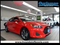 Racing Red 2019 Hyundai Veloster 2.0 FWD 6-Speed