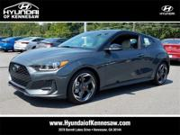 Gray 2019 Hyundai Veloster Turbo FWD 7-Speed Automatic