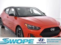 Recent Arrival! This 2019 Hyundai Veloster Turbo