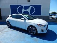 We are excited to offer this 2019 Hyundai Veloster. You