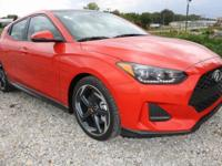 Recent Arrival! 2019 Hyundai Veloster Turbo FWD 1.6L