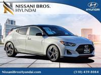 White 2019 Hyundai Veloster Turbo Ultimate FWD
