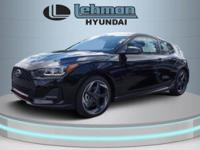 $3,070 off MSRP! Ultra Black 2019 Hyundai Veloster