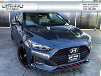 Thunder Gray 2019 Hyundai Veloster Turbo Ultimate FWD