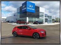 Sunset Orange 2019 Hyundai Veloster Turbo FWD 1.6L I4