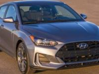 This Hyundai Veloster boasts a Intercooled Turbo