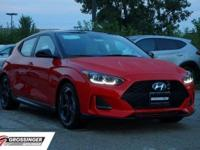 2019 Hyundai Veloster Turbo Ultimate Racing Red 3D