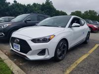 White 2019 Hyundai Veloster Turbo FWD Shiftronic 1.6L