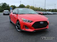 New 2019 Hyundai Veloster Turbo Ultimate! This vehicle
