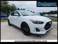 New Price! White 2019 Hyundai Veloster Turbo R-Spec FWD