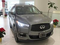 JUST IN!!  2019 INFINITI QX60 LUXE, Graphite Shadow,