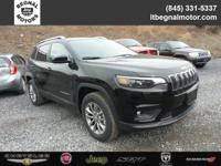 $3,500 off MSRP! 2019 Jeep Cherokee Diamond Black