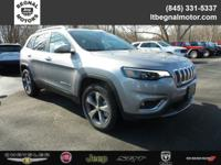 $3,750 off MSRP! 2019 Jeep Cherokee Billet Silver