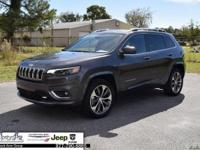 Gray 2019 Jeep Cherokee Overland 4WD 9-Speed 948TE