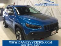 Blue Pearl 2019 Jeep Cherokee Trailhawk 4WD 9-Speed