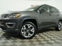 $4,341 off MSRP!2019 Jeep Compass Limited 4WD, 4-Wheel