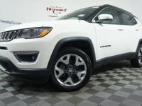 $4,632 off MSRP!2019 Jeep Compass Limited 4WD, 4-Wheel