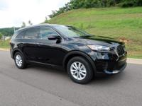 Ebony Black 2019 Kia Sorento LX FWD 6-Speed Automatic