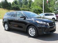 Ebony Black 2019 Kia Sorento LX FWD 8-Speed Automatic