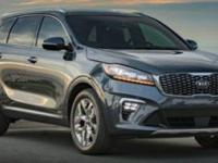 Boasts 24 Highway MPG and 19 City MPG! This Kia Sorento