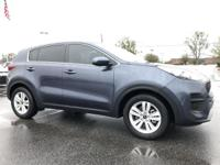 Pacific Blue 2019 Kia Sportage LX FWD 6-Speed Automatic
