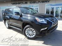 Boasts 18 Highway MPG and 15 City MPG! This Lexus GX