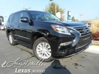 *Experience a Fully-Loaded Lexus GX 460 4WD Premium