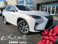 Boasts 28 Highway MPG and 31 City MPG! This Lexus RX