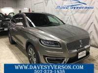 Mocha 2019 Lincoln Nautilus Select AWD 8-Speed