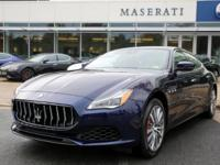 This 2019 Maserati Quattroporte S Q4 is proudly offered