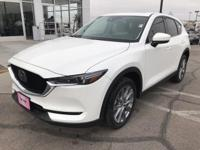 Snowflake White Pearl 2019 Mazda CX-5 Grand Touring FWD