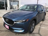 Eternal Blue 2019 Mazda CX-5 Sport FWD 6-Speed