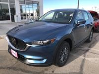 Blue Metallic 2019 Mazda CX-5 Sport FWD Automatic 2.5L