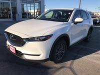 Snow White Pearl 2019 Mazda CX-5 Sport Automatic