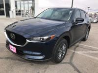 Crystal Blue 2019 Mazda CX-5 Touring FWD 6-Speed