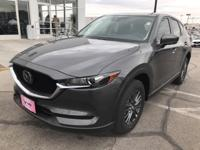 Machine Gray 2019 Mazda CX-5 Touring FWD 6-Speed