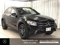 Check out this gently-used 2019 Mercedes-Benz GLC we