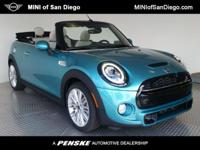 This 2019 MINI Cooper S Convertible 2dr features a 2.0L