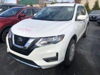 New Price!Glacier White 2019 Nissan Rogue S FWD CVT