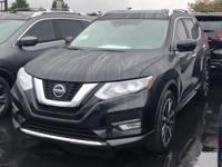 Magnetic Black Pearl 2019 Nissan Rogue SL FWD CVT with