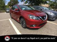 New Price! Scarlet 2019 Nissan Sentra SR FWD Automatic