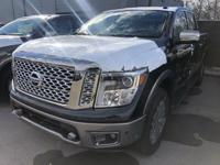 New Price!Magnetic Black 2019 Nissan Titan Platinum