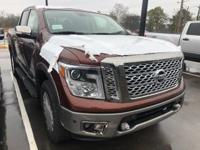 New Price!Copper Metallic 2019 Nissan Titan Platinum