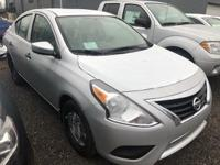 Brilliant Silver Metallic 2019 Nissan Versa 1.6 S Plus